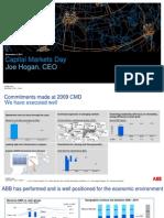 ABB Capital Markets Day 2011 Media Presentation