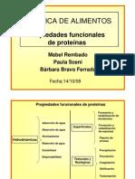 Propiedades funcionales de proteínas