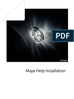 Install Mayahelp