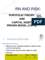 Return and Risk- Lecture