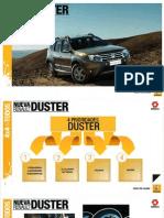 Lanzamiento Duster 2012 Presentación