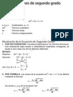 12_Ecuaciones de Segundo Grado