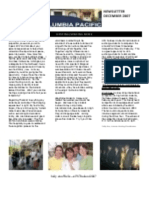 December 07 Newsletter