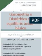 Gasometria e Desquilibrio Aciodbasico