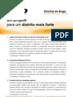 Plano Distrital PSD Braga