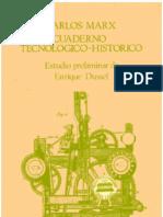 Cuaderno tecnológico-histórico de Carlos Marx. Estudio Preliminar