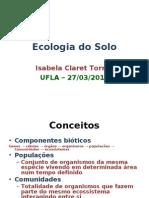 Ecologia Do Solo_ICT2