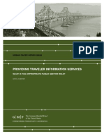 Providing Traveler Information Services