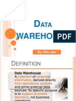 Ppt on Data Warehousing