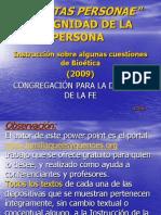 Dignitas Personae