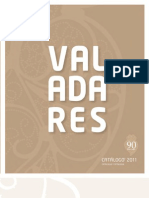 catalogo loucas VALADARES 2011