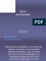 Inversiones Power Point