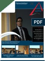 ALPFA Newsletter Spring 2012 No. 8