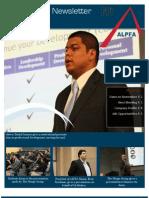 ALPFA Newsletter Spring 2012 No. 9