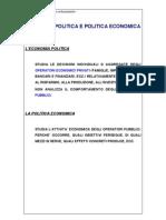 Riassunti Di Acocella Politica Economica e Strategia Aziendale Esercizi
