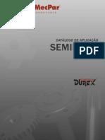DUREX CATÁLOGO DE SEMI-EIXOS