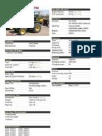 John Deere 790 Ficha Tecnica Full