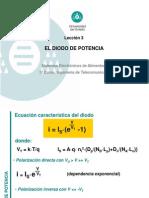 Leccion 3 El diodo