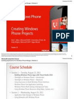 Creating Windows Phone Projects (Mango 7.5)