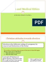 Religion and Medical Ethics