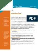G20 Background Brief FINAL ANTI-CORRUPTION 2-27-2012 (Updated)