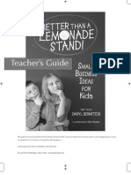Better Than a Lemonade Stand_Teacher's Guide