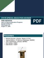 SEAP Presentation August 2009
