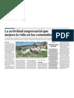 La mineria y el desarrollo de comunidades en el Perú