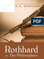 Rothbard vs Philosophers