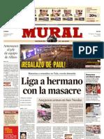 Encuesta Mural Del Toro lleva Ventaja