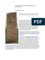 The Pictish Crescent v-Rod as a Seasonal Sundial by Jason Bell Chamber
