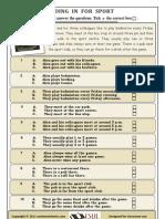 ESL / EFL Worksheet
