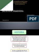 PROSTATA FEMENINA