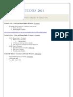HSC Legal Studies 2011 - Notes