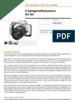Canon EOS 300 v Spiegelreflexkamera 28-90 1 4,0-5,6 DC Kit
