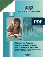 Manual de Normas Para Trabalhos Cientificos Da FIC