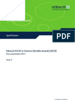 IGCSE Science Dble Awd 4SC0 Version 3 Syllabus