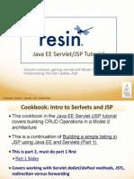 Java EE Servlet/JSP Tutorial Cookbook 2