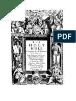 Original 1611 King James Version