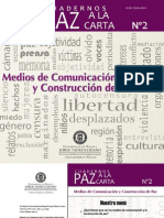Medios de comunicación y paz