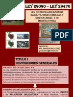 Expo Sic Ion Edificaciones de La Ley Su to Con Para Metros cos