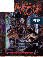 Werewolf - Apocalypse - Players Guide To Garou (3ª Edition)
