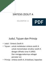 Sintesis Zeolit A