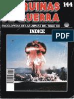 Maquinas de Guerra 144 - Indice