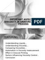 Important Aspect of Viscosity in Gravure Printing Process