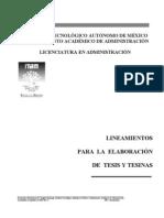 Lineamientos_titulacion Cracion de Tesina