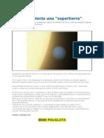 La NASA Con El Telescopio Spitzer Detecta Una a