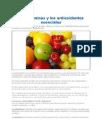 Las Vitaminas y Los Anti Ox Id Antes Esenciales