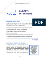 14 Research Toolkit Ch6 in Depth Interviews