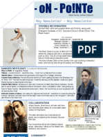 Men on Pointe MAY Newsletter